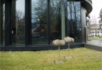 XY, Granit/ Edelstahl, 80 x 45 x 40 cm